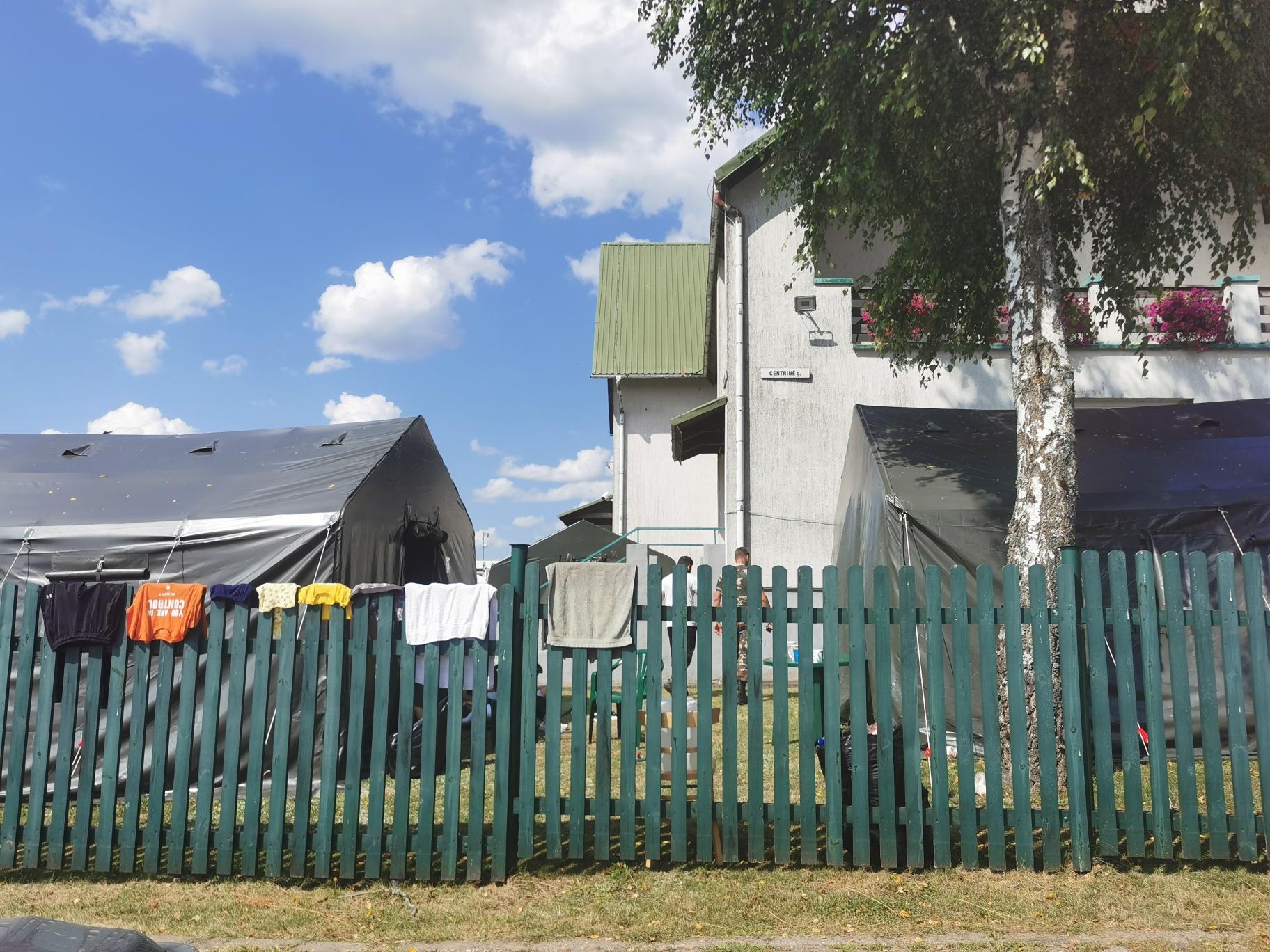 Pabėgėliai įsikūrė Poškonių užkardoje